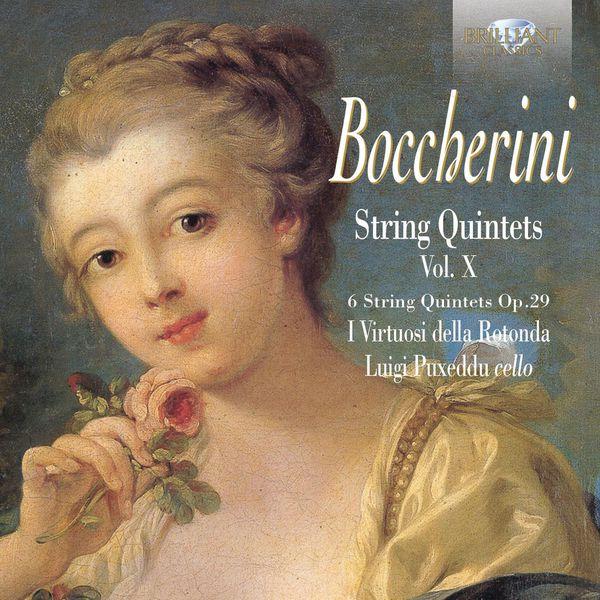 I Virtuosi della Rotonda, Federico Guglielmo & Luigi Puxeddu Boccherini: String Quintets, Op - 5028421949611_600
