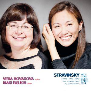 Stravinsky: Oeuvres pour violon et piano