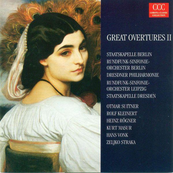 OPERA OVERTURES - MOZART, W.A. / WEBER, C.M. von / ROSSINI, G ...