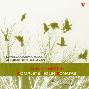 Anton Rubinstein : Complete Violin and Piano Works, Vol. 2