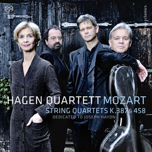 Mozart : String Quartets K. 387 & K. 458