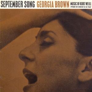 September Song - The Music of Kurt Weill