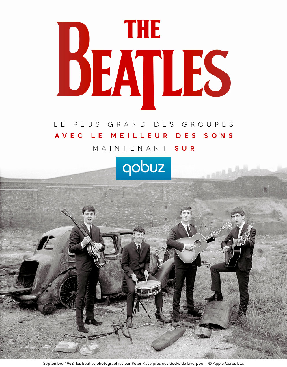 The Beatles now available in 16 bit FLAC from Qobuz | Steve